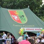 Nasz reprezentacyjny namiot podczas Królewskiego Jarmarku w Pysznicy